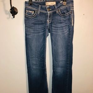 BKE STARLITE🧚🏾♀️🦹🏼♀️  ladies denim jeans